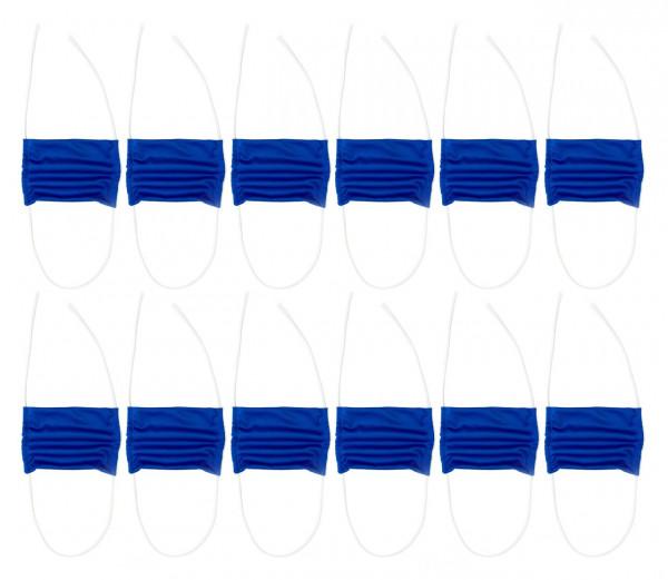 Mund-Nasen-Schutz blau 12er