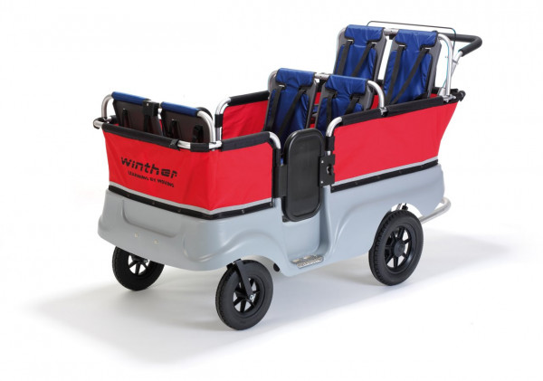 Turtle Kinderbus Basic für 6 Kinder Winther 801