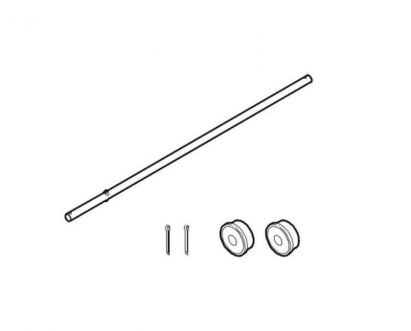8850515 Achse für 479 - Länge: 51 cm