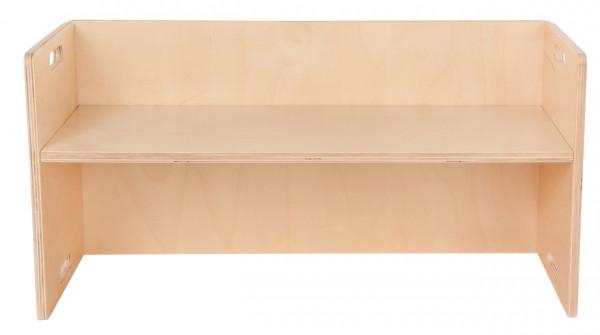 Wendebank aus Holz Krippe