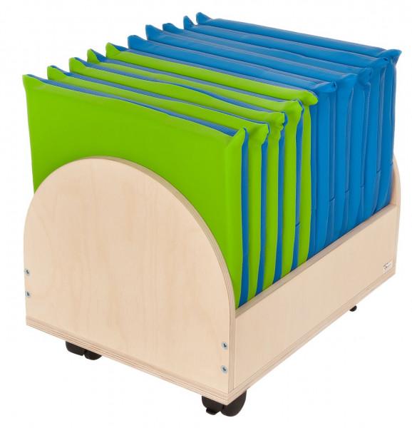 Sitzkissenwagen mit versch. Farben