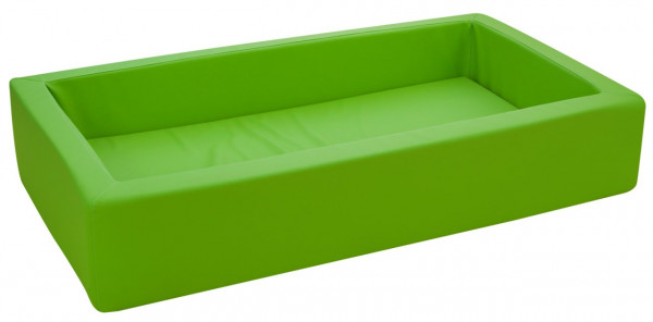 Schaumstoffbett grün