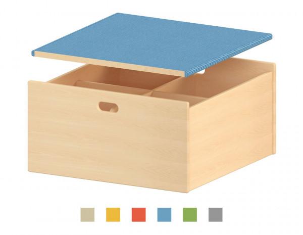 Podest Bücherkasten, in 6 Farben erhältlich