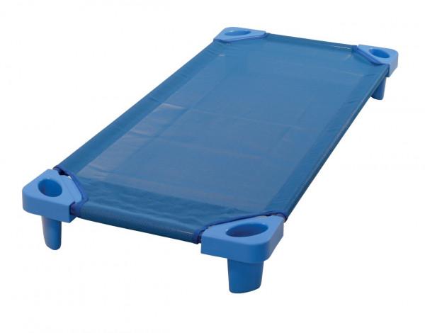 Kunststoffliege 133x58x15cm blau