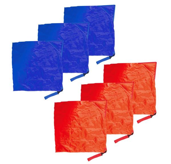 Rhythmikflaggen Set 6er