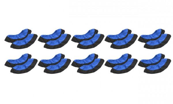 Schuhüberzieher Mehrweg blau 10er Set