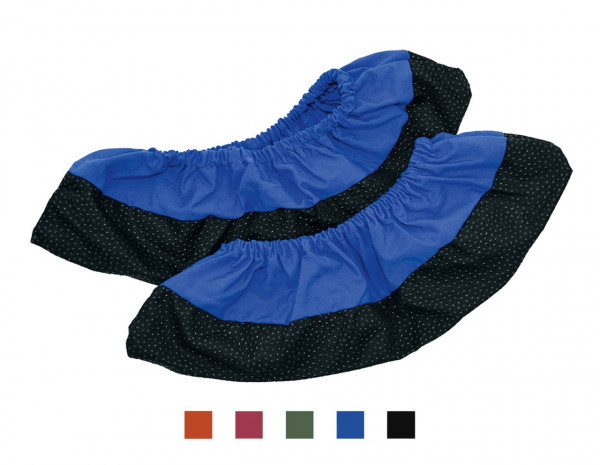 Schuhüberzieher Mehrweg blau