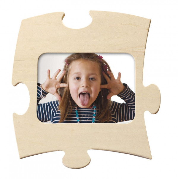 Holzbilderrahmen Puzzle